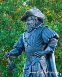 CNU Statue of Captain Christopher Newport