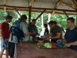 Lunch Break on a River Island
