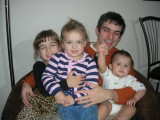 Elena, Rosa, Ro, and Rahil