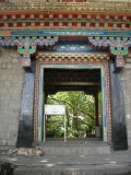 Entrance to Norbu Lingka, a Tibetan arts and crafts institute
