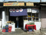 A local chaat (snack) shop