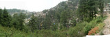Panoramic view of McCloud Gang from an opposite ridge