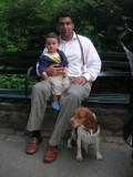 With Rahul and Cleo
