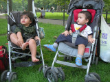 Hanging out with Viraj in Central Park
