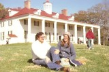 With Mary at Mt. Vernon, 1976
