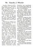 Three Lakes, Wisconsin obituary