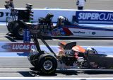 Top alcohol dragsters at light