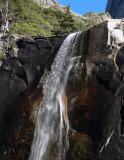 Vernal Fall still flows