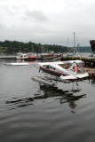 Float plane in Ganges Harbour