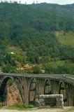 Tara Bridge at Đurđevica Tara