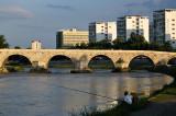 Fishing in the Vardar River