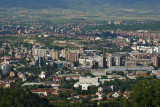 View of Skopje from Mt Vodno
