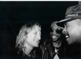 GREG RZAB, BOOTSY COLLINS AND LARRY GRAHAM