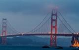 Golden Gate Bridge from Baker beach 02