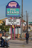 Pig Stand #7 sign