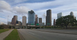 downtown Houston from Allen Parkway 01