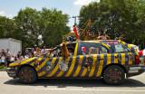 Jesus Christ Monkey Car