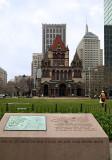 Copley Square Kahlil Gibran plaque