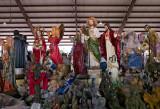 Trader's Village flea market statues 01