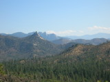 The Needles and Sentinel Peak