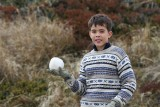 First  snow ball
