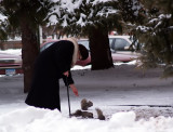 Russian Squirrel Lady