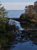 Into Lake Superior