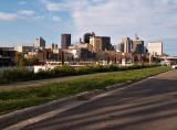 City Scape of Saint Paul MN