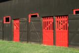 The barn door ...