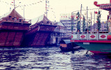 Sea-going Junks and Tai Pak Floating Restaurant