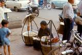 Sidewalk eatery, Saigon