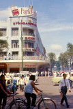 Busy Saigon Street Scene