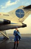My Favorite Flight Attendant ... Berlin Tempelhof 1971