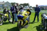 Ex-Valentino Rossi MotoGP bike