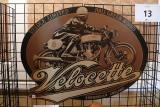 Velocette Sign