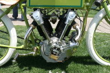 Amazing replica of a 1919 bevel-drive Overhead cam Henderson