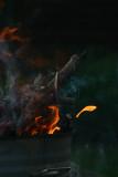 Fingers of fire