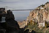 Le pont suspendu  de Sidi M'Cid