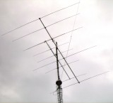 5 elements on 10m mounted at 41m height (105BA)