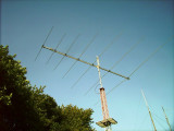 Pipe mast for Logperiodic replaced