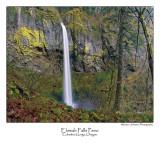 Elowah Falls Pano.jpg (Ask For Custom Sizes)