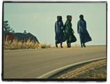 Three Amish Girls