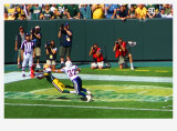 diving touchdown