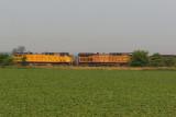 UP 6423 CSX V249 Kings IN 10 June 2007