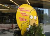 Is Homer hiding?