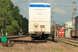 UP Local Condutors walkin train at Gate City.JPG