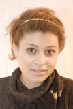 Nadia with headband