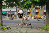 Rest at Karl Johan in Oslo