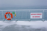 No smoking - on the ferry Bastøferja (Horten - Moss)
