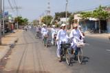 Students leaving school